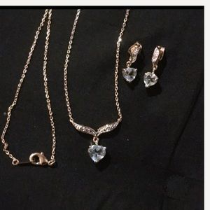 Jewelry - Necklace and earring set NWOT